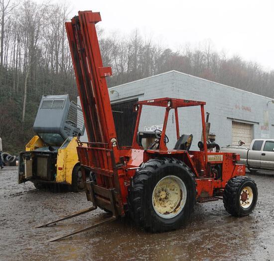 Manitou 4 x 4 Forklift