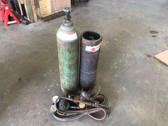 Oxy Acetylene Torch Set