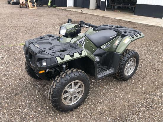 2010 Polaris Sportsman 550 XP EPS ATV, VIN # 4XAZX55A8AA015396