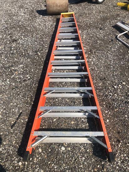 12' Bauer Fiberglass Step Ladder