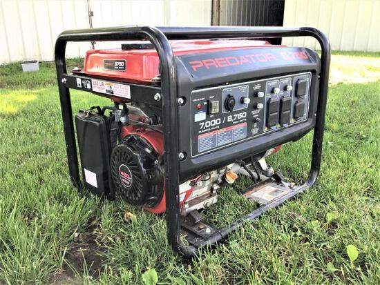 Predator 8750 Gas Generator