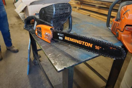 Remington Electric Chain Saw
