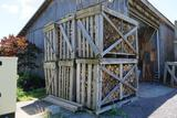 Wooden Firewood Crate 1 Crate Per Lot