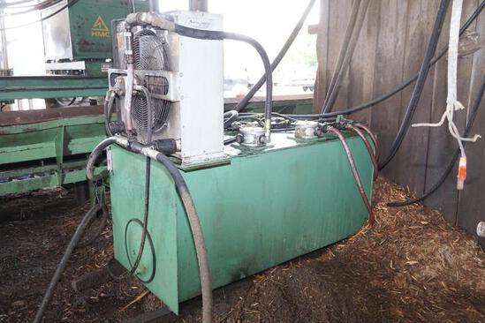 Oil Reservoir with Cooler