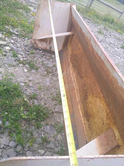 """92"""" Box Scraper for Skid Steer"""