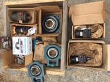 Bearings, Sprockets, Hydraulic Motors etc.