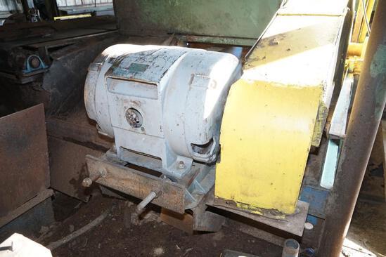 200 HP Motor on Head Saw