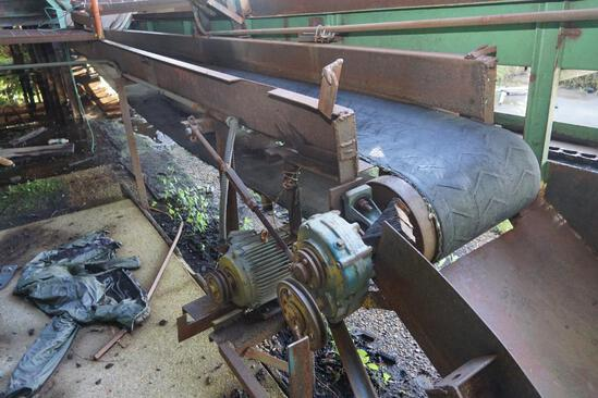 Box type belt conveyor