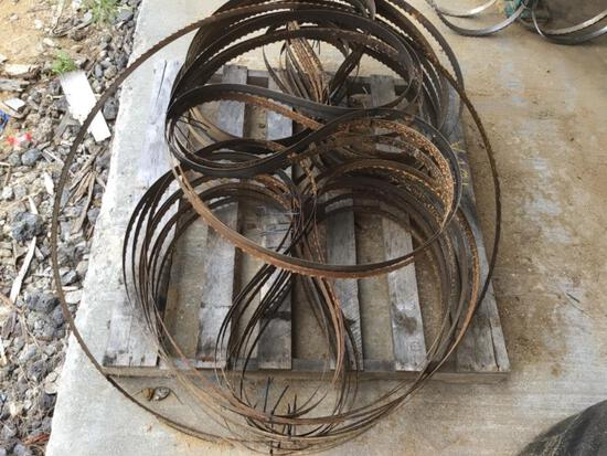 * lot of blades for Woodmizer SHR