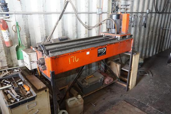 Pipers Saw Shop Chipper Knife Grinder