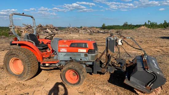 Kubota Hydrostat Tractor