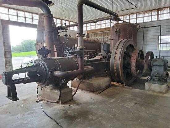 Ames Uniflow Steam Engine