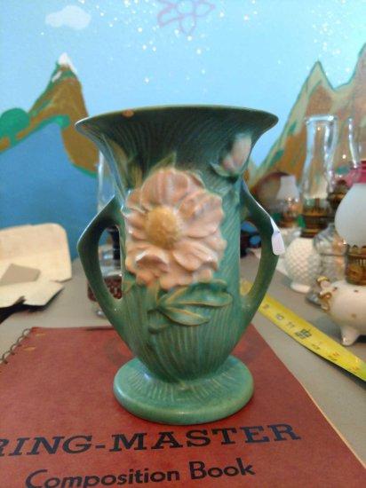 Roseville Pottery Peony Vase No. 59-6