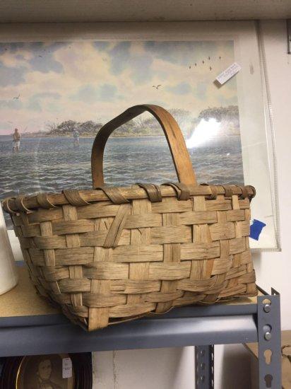 Nice primitive Split Oak basket