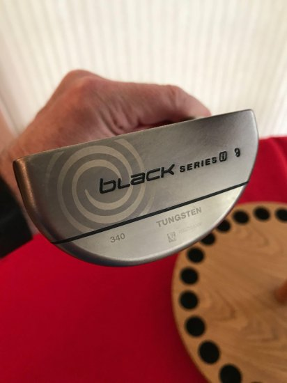 Odyssey Tungsten Black Series 9 Putter