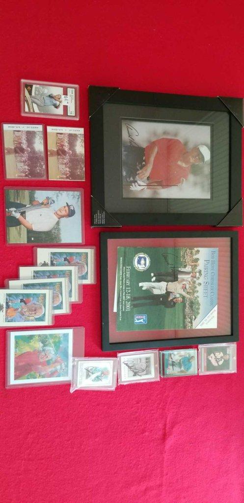 Huge Arnold Palmer Memorabilia Lot