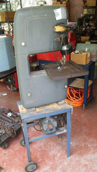 Craftsman, Wood and Metal, Vertical Bandsaw