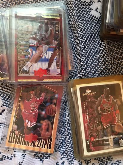 a9014bc9c17 50+ Michael Jordan cards in pr... Auctions Online