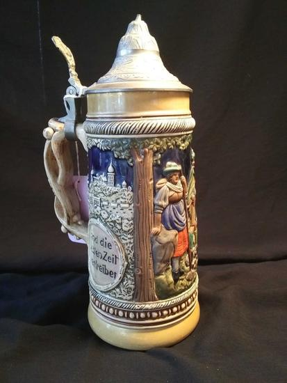 1940's Made in French Zone, Germany, Beer Stein