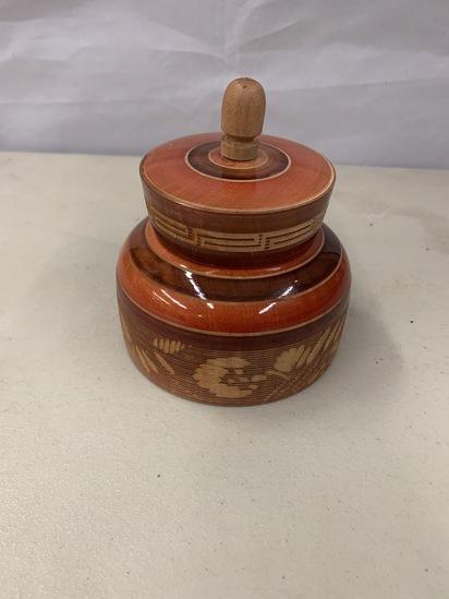 Lemon wood box