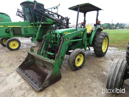 5220 John Deere Tractor w/ 520 Loader