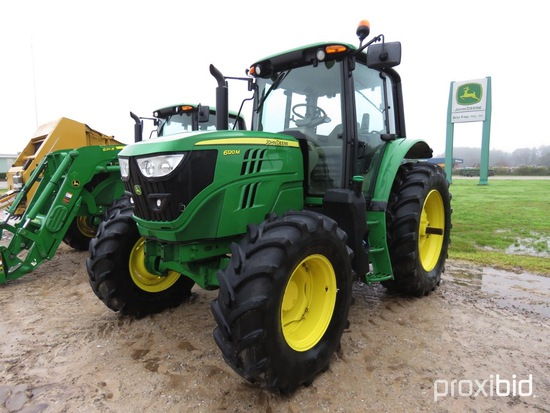 6120M John Deere Tractor