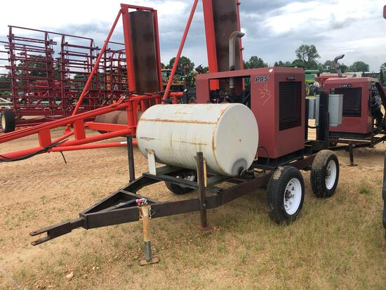 P85 CASE IH POWER UNIT WITH TRAILER