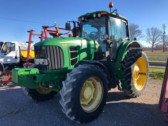 7530 John Deere Tractor