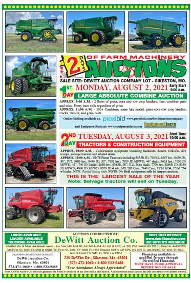 Large Absolute Combine Auction