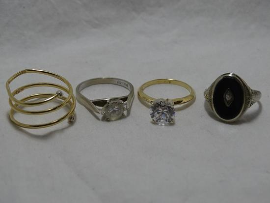 Four Gold Rings