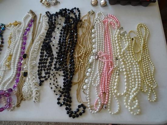 Beaded necklaces and bracelets