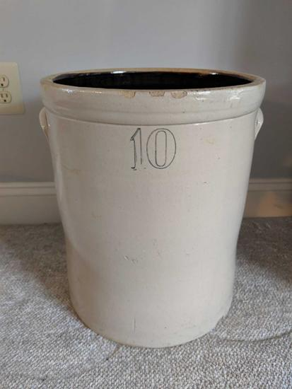 10 Gallon crock (Pick-up only)