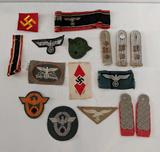 Swastika patches, bands, etc. (can be shipped)