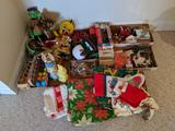 Large lot of new and vintage Christmas and Easter decorations (Pick-up only)