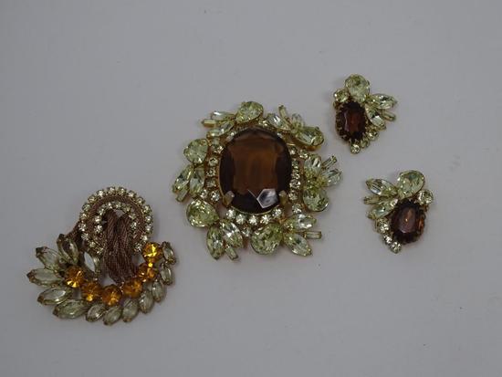 Rhinestone Costume Jewelry