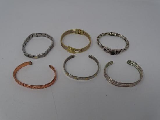 6 Costume Bracelets