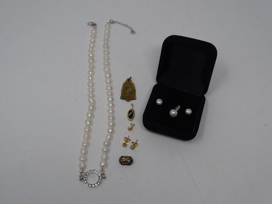Necklace, Charm, and Earring Lot