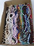 Large Quantity of Costume Jewelry Necklaces