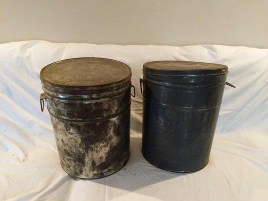 Two Lard Buckets