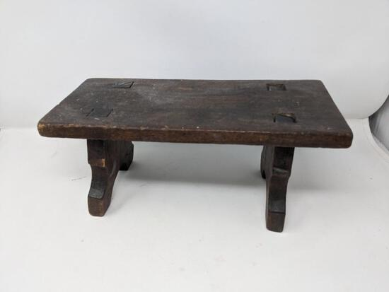 Small Mortise and Tenon Footstool