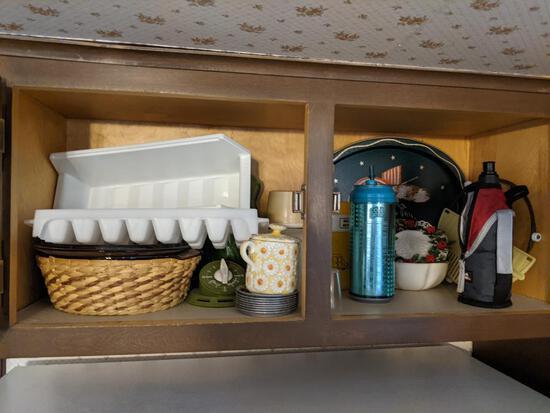 Kitchen Cabinet Contents