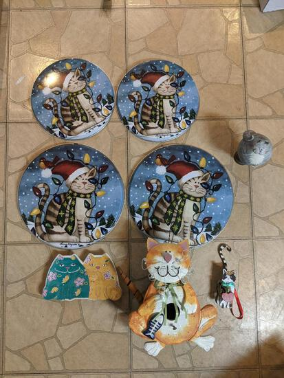 Cat Related Decor Pieces