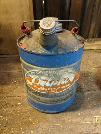 Small Delphos Metal Gas Can