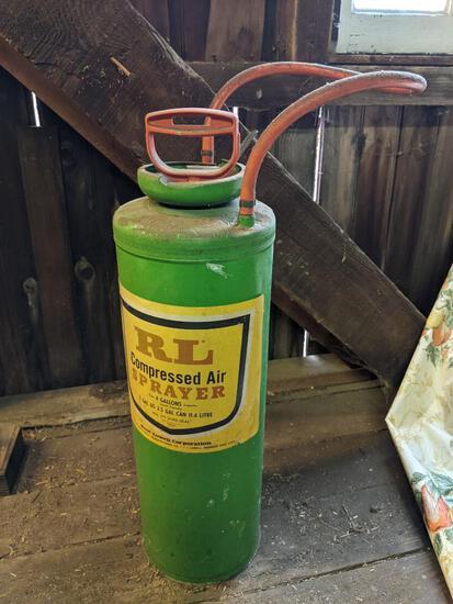 RL Compressed Air Sprayer