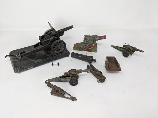 Toy Cannons/Parts
