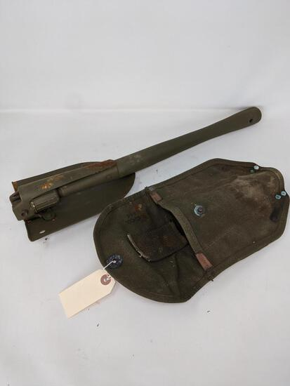 Vietnam Era Entrenching Tool in Canvas