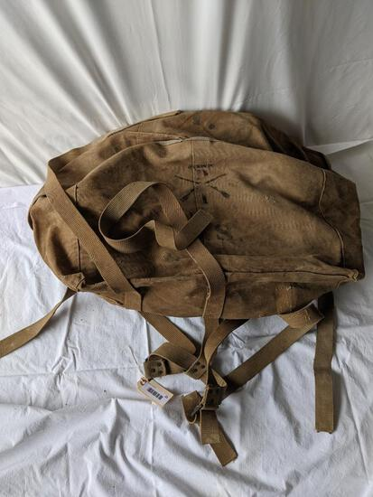 WWII Tent in Canvas Bag