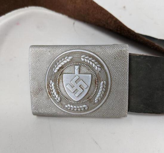 Nazi Labor Corps Belt & Buckle