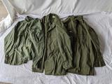 Post WWII Fatigue Blouses