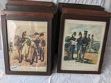 Collection of 18 Framed Prints